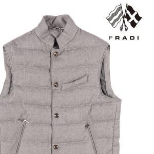 【56】 FRADI フラディ ダウンベスト メンズ 秋冬 REDA社素材使用 グレー 灰色 並行輸入品 アウター トップス 大きいサイズ utsubostock