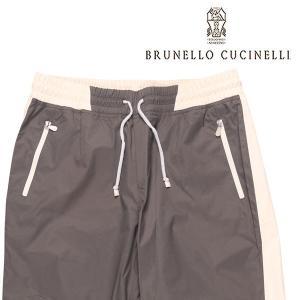 BRUNELLO CUCINELLI(ブルネロクチネリ) パンツ CQ965 グレー x ホワイト XXL 23678 【W23680】 utsubostock