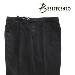 B SETTECENTO(ビーセッテチェント) パンツ 8029 ブラック 38 23733bk 【A23753】|utsubostock