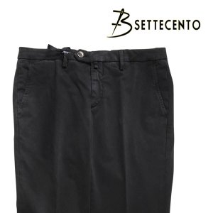 B SETTECENTO(ビーセッテチェント) パンツ 8029 ブラック 44 23733bk 【A23756】|utsubostock