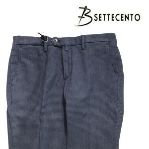 B SETTECENTO(ビーセッテチェント) パンツ 8514 ネイビー 35 23757nv 【A23769】|utsubostock