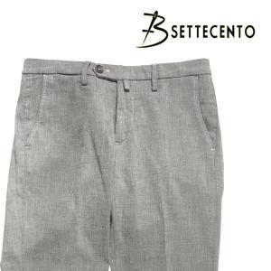 B SETTECENTO(ビーセッテチェント) パンツ 8559 グレー 32 23771gy 【A23773】|utsubostock