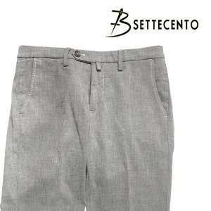 B SETTECENTO(ビーセッテチェント) パンツ 8559 グレー 33 23771gy 【A23774】|utsubostock