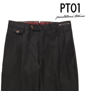 PT01(ピーティー ゼロウーノ) パンツ MR13 ブラック 52 23804 【W23807】 utsubostock