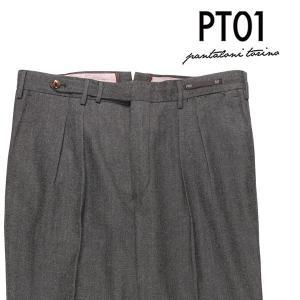 PT01(ピーティー ゼロウーノ) パンツ MR14 グレー 52 23817 【W23818】 utsubostock