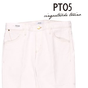 PT05(ピーティー ゼロチンクエ) ジーンズ OA14 ホワイト 36 23846 【A23848】|utsubostock