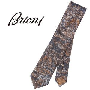 brioni(ブリオーニ) ネクタイ 08A900741Y ネイビー x イエロー 24094nv 【A24094】 utsubostock