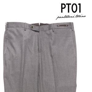PT01(ピーティー ゼロウーノ) パンツ CO15 グレー 52 【W24233】 utsubostock