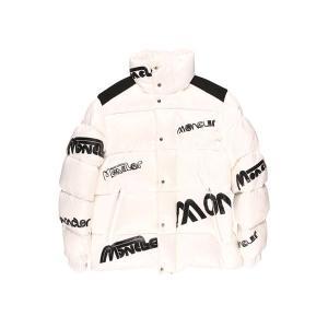 MONCLER(モンクレール) ダウンジャケット MARE GIUBBOTTO ホワイト x ブラック 3 24681 【W24681】|utsubostock