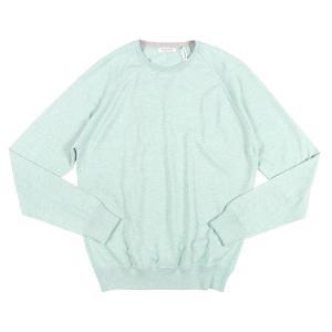 Gran Sasso(グランサッソ) 丸首セーター PARICOLLO M/L グリーン 50 24838gr 【A24839】|utsubostock