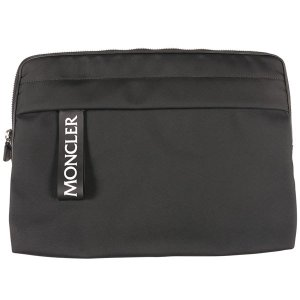 MONCLER(モンクレール) バッグ LAPTOP CASE ブラック ONESIZE 【A25176】|utsubostock