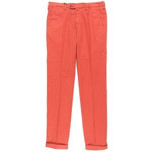 B SETTECENTO(ビーセッテチェント) パンツ MH713-9544 レッド x オレンジ 35 25651rd 【A25656】 utsubostock
