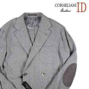 CORNELIANI ID ジャケット メンズ 秋冬 50/XL グレー 灰色 カシミヤ100% コルネリアーニ アイディー 並行輸入品|utsubostock