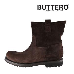Buttero ブーツ メンズ 43/27.5cm ブラウン 茶 レザー B2935 ブッテロ 並行輸入品|utsubostock
