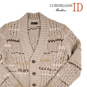 CORNELIANI カーディガン メンズ 50/XL ホワイト 白 リネン混 コルネリアーニ 並行輸入品|utsubostock
