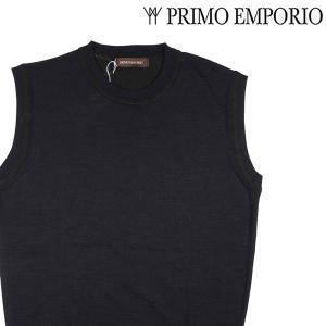 PRIMO EMPORIO ベスト メンズ 秋冬 S/44 ネイビー 紺 プリモエンポリオ 並行輸入品|utsubostock