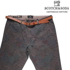SCOTCH&SODA コットンパンツ メンズ 29/S グレー 灰色 スコッチアンドソーダ 並行輸入品|utsubostock