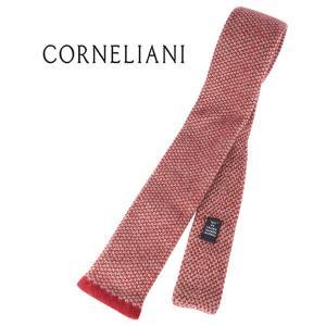 CORNELIANI ネクタイ メンズ 秋冬 レッド 赤 カシミヤ100% コルネリアーニ 並行輸入品|utsubostock