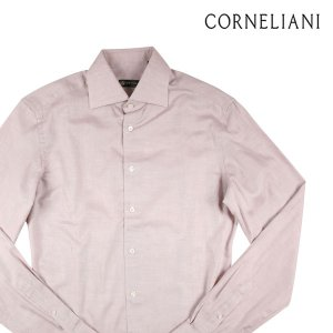 CORNELIANI 長袖シャツ メンズ 39/M ベージュ コルネリアーニ 並行輸入品|utsubostock
