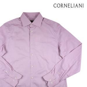 CORNELIANI 長袖シャツ メンズ 40/L ピンク コルネリアーニ 並行輸入品|utsubostock