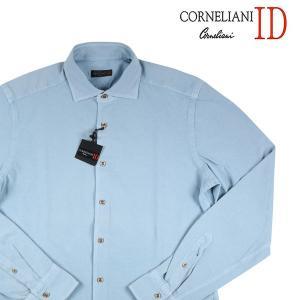 CORNELIANI ID 長袖シャツ メンズ 41/XL コルネリアーニ アイディー 並行輸入品|utsubostock