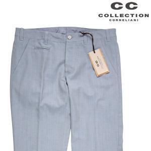 【48】 CC COLLECTION シーシーコレクション パンツ メンズ 春夏 ブルー 青 並行輸入品 ズボン|utsubostock