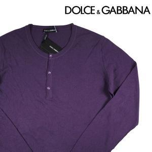Dolce&Gabbana 丸首セーター purple 56【W6365】 ドルチェ&ガッバーナ|utsubostock