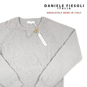 DANIELE FIESOLI 丸首セーター 48557 gray XL【W6483】 ダニエレフィエゾーリ|utsubostock