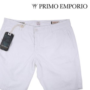 PRIMO EMPORIO ハーフパンツ メンズ 春夏 52/2XL ホワイト 白 プリモエンポリオ 大きいサイズ 並行輸入品|utsubostock