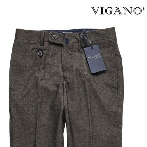 VIGANO パンツ メンズ 秋冬 44/S グレー 灰色 ビガーノ 並行輸入品|utsubostock