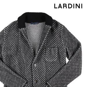 【S】 LARDINI ラルディーニ カーディガン メンズ 秋冬 グレー 灰色 並行輸入品 ニット 【アウトレット】|utsubostock