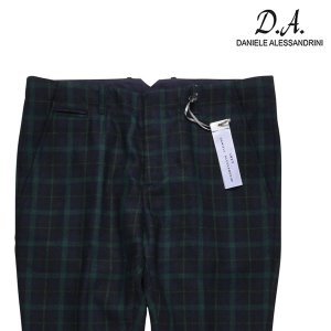 【48】 DANIELE ALESSANDRINI ダニエレアレッサンドリーニ パンツ メンズ 秋冬 グリーン 緑 並行輸入品 ズボン|utsubostock