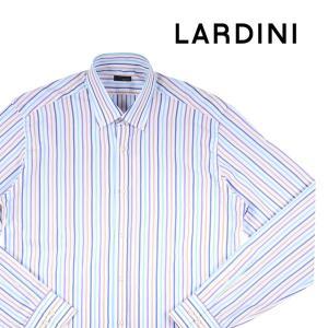 LARDINI 長袖シャツ メンズ 40/L ラルディーニ 並行輸入品|utsubostock