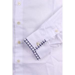 【41】 ETRO エトロ 長袖シャツ メンズ ホワイト 白 並行輸入品 カジュアルシャツ|utsubostock|03
