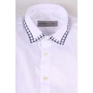 【41】 ETRO エトロ 長袖シャツ メンズ ホワイト 白 並行輸入品 カジュアルシャツ|utsubostock|04