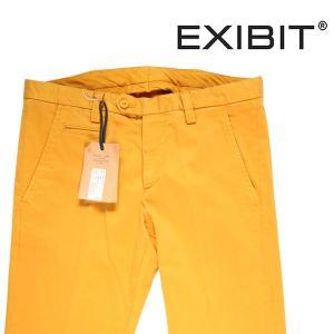 【56】 EXIBIT エグジビット カラーパンツ メンズ イエロー 黄 並行輸入品 ズボン 大きいサイズ|utsubostock