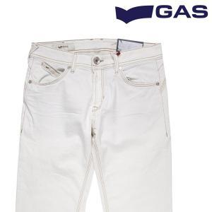 GAS ジーンズ メンズ 33/XL ホワイト 白 ガス 並行輸入品|utsubostock