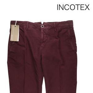 【33】 INCOTEX インコテックス コットンパンツ 1SP60340351 メンズ 秋冬 レッド 赤 並行輸入品 ズボン|utsubostock