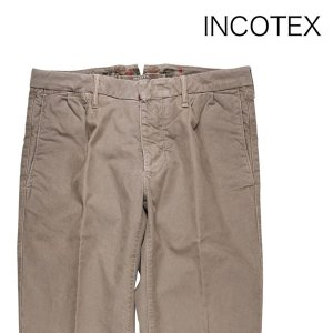 【32】 INCOTEX インコテックス コットンパンツ 1SP60340351 メンズ 秋冬 ベージュ 並行輸入品 ズボン|utsubostock