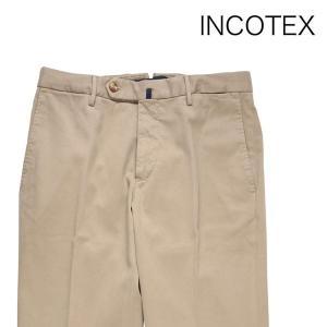 INCOTEX スラックス 131ST0012623 beige 44 8469【W8469】 インコテックス|utsubostock