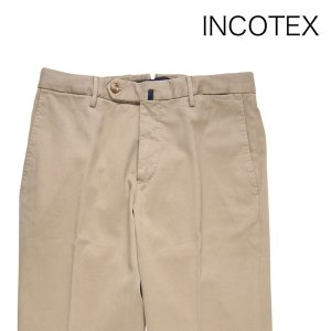 INCOTEX スラックス 131ST0012623 beige 50 8469【W8470】 インコテックス|utsubostock