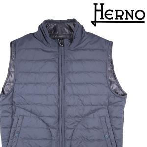 HERNO ダウンベスト メンズ 秋冬 52/2XL グレー 灰色 PI0166U ヘルノ 大きいサイズ 並行輸入品 utsubostock