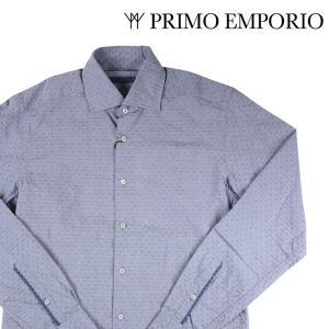 PRIMO EMPORIO 長袖シャツ メンズ 38/S グレー 灰色 プリモエンポリオ 並行輸入品|utsubostock