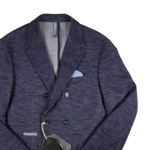 RICICLO ジャケット メンズ 50/XL ブルー 青 並行輸入品|utsubostock