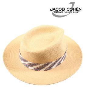 Jacob Cohen ヤコブコーエン ハット J6045 メンズ 春夏 ベージュ 並行輸入品|utsubostock