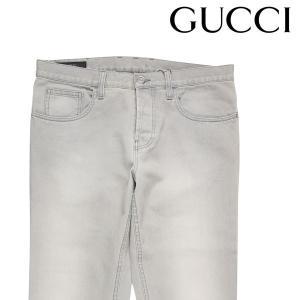 GUCCI ジーンズ メンズ 46/M グレー 灰色 MH0 269300 グッチ 並行輸入品 utsubostock