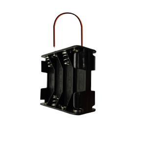 電池ボックス 12V出力 単3電池8本 (導線タイプ) 蓋なし utsunomiyahonpo
