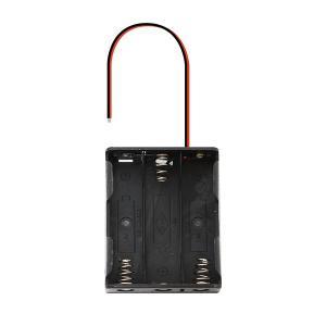 電池ボックス 単三電池 × 3本 4.5V (フタなし)|utsunomiyahonpo