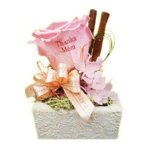 プリザーブド ホワイトストーン  お花に印字 メッセージフラワー  花 アートフラワー 世界に1つのオリジナルフラワー|utsunomiyahonpo