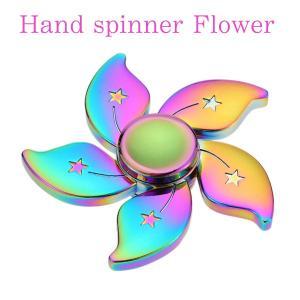 ハンドスピナー Hand Spinner フィンガースピナー 花 フラワー かわいい|utsunomiyahonpo